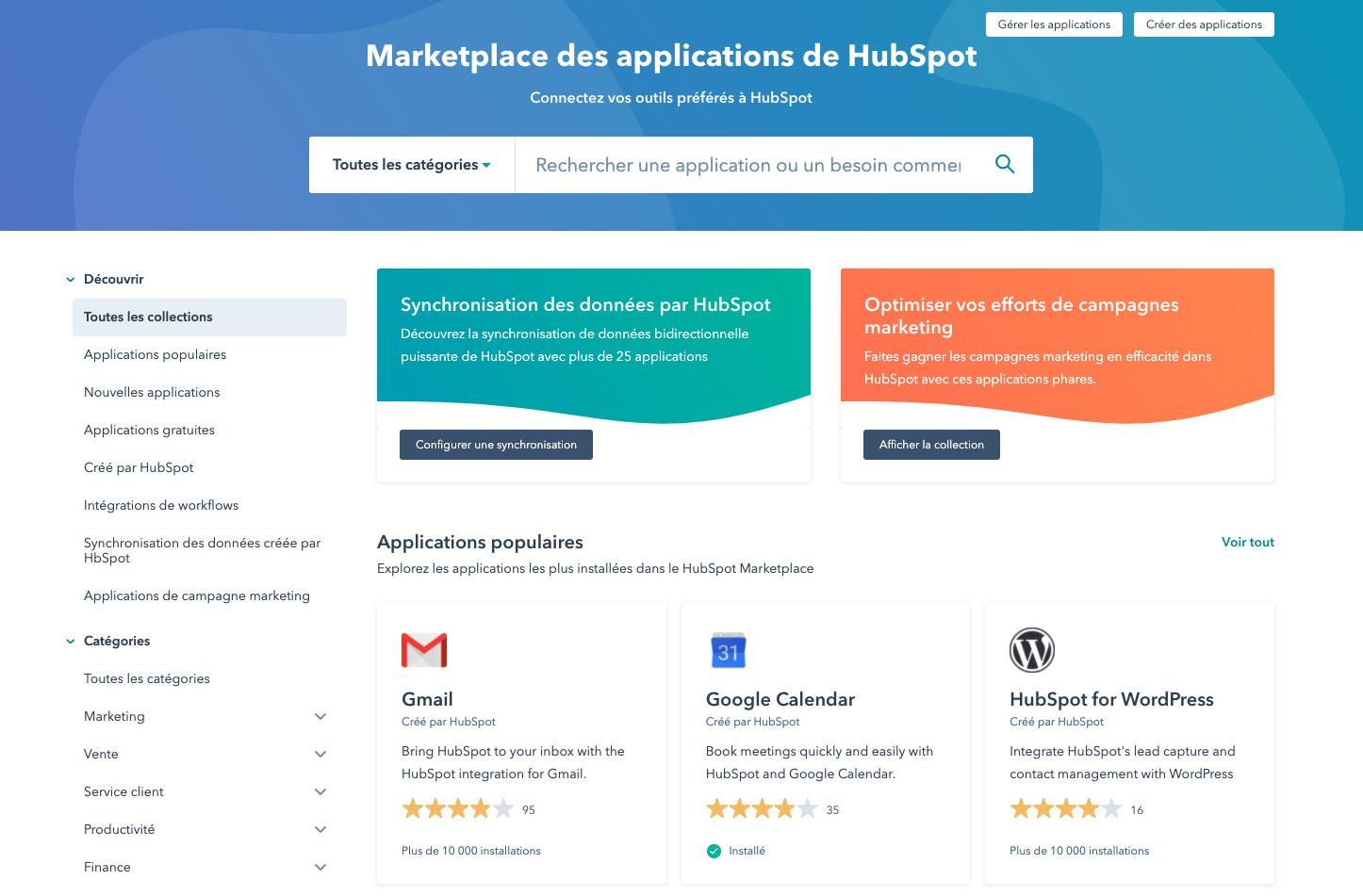 HubSpot - Marketplace