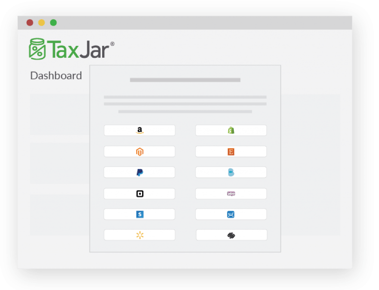 TaxJar Dashboard